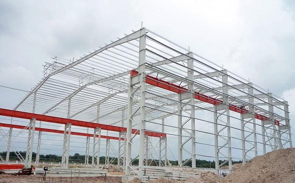Xây dựng nhà xưởng bằng khung thép