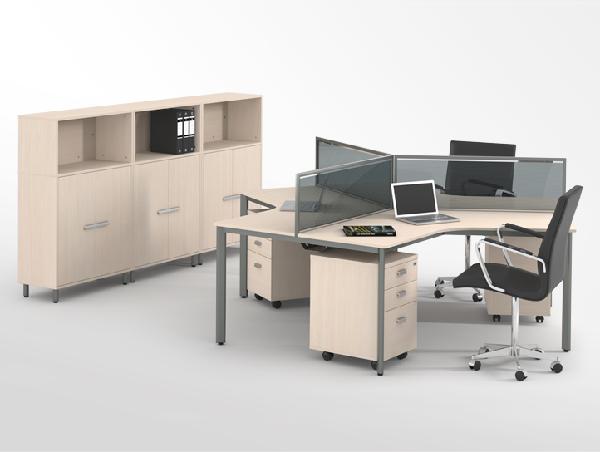 Một trong những mẫu nội thất văn phòng thanh lý với kiểu dáng đơn giản nhưng vẫn thu hút
