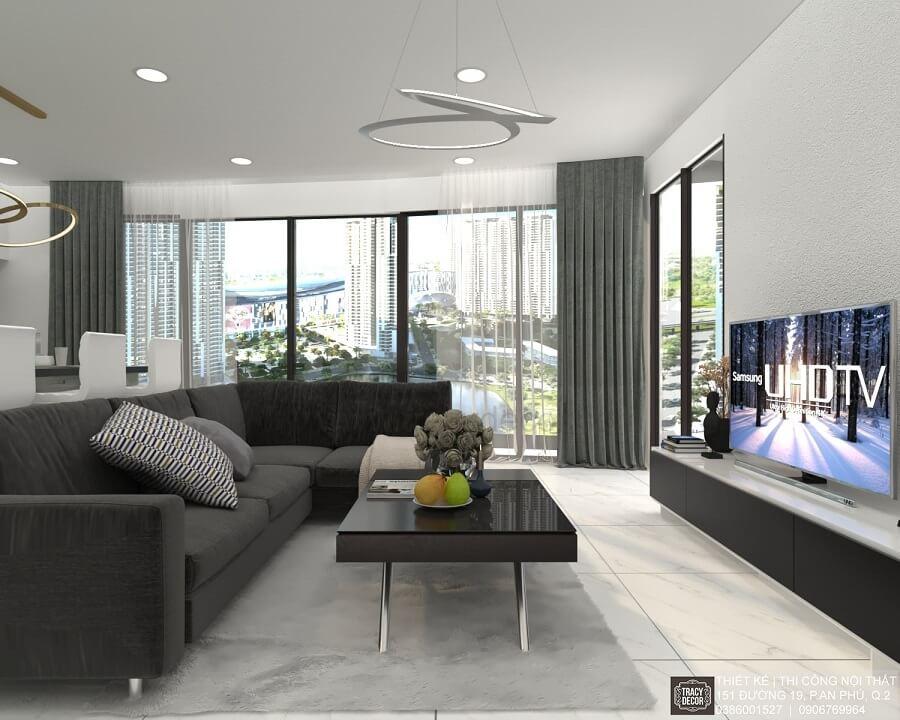 Thiết kế thi công căn hộ của dự án City Garden