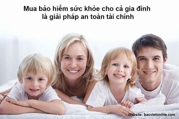 Bảo hiểm sức khỏe là sự lựa chọn hoàn hảo cho gia đình bạn