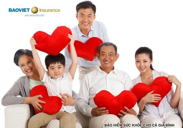 Có rất nhiều gói bảo hiểm sức khỏe Bảo Việt cho gia đình bạn lựa chọn