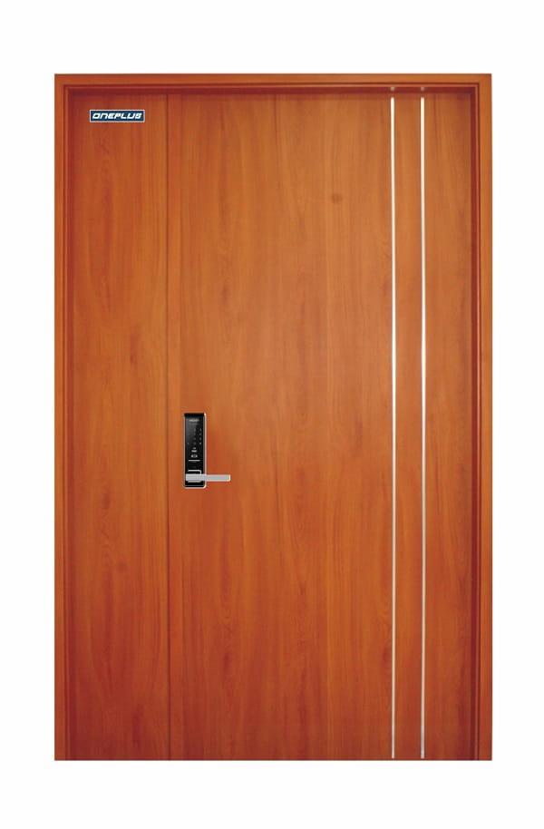 Cửa nhựa giả gỗ Oneplusdoor cam kết 100% về chất lượng