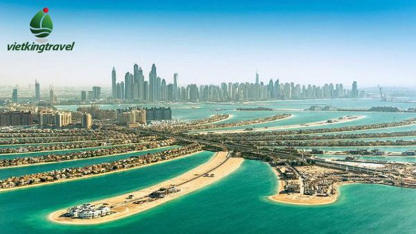 Nhiều công trình được xây dựng trên đảo cọ Dubai