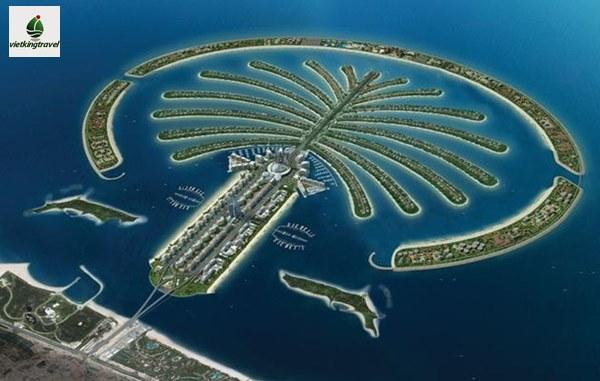 Quần đảo Palm Jumeirah - Điểm đến không thể bỏ qua tại Dubaicây cọ Palm