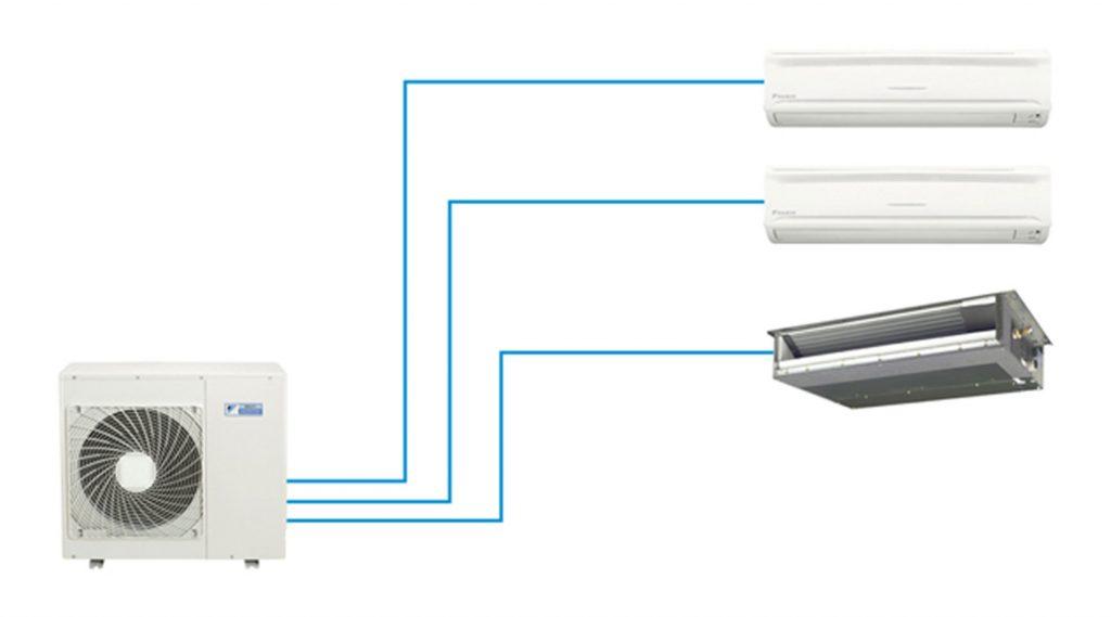 Mô phỏng hệ thống điều hòa Multi