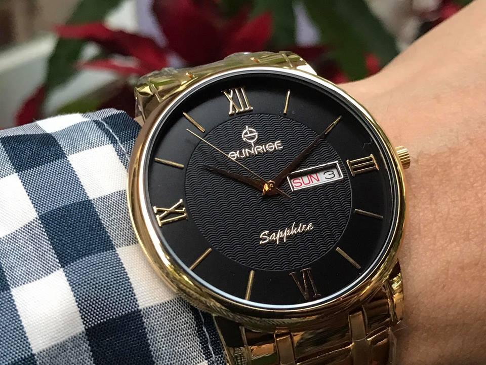 Đồng hồ tặng sếp nam cao cấp