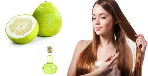 Tinh dầu bưởi trị rụng tóc hiệu quả