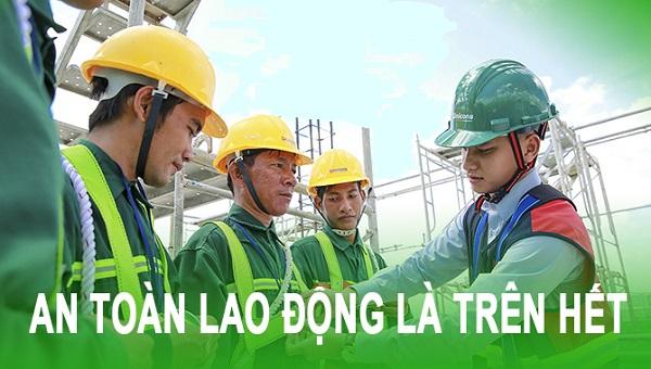 Tham gia huấn luyện an toàn lao động để biết cách bảo vệ bản thân