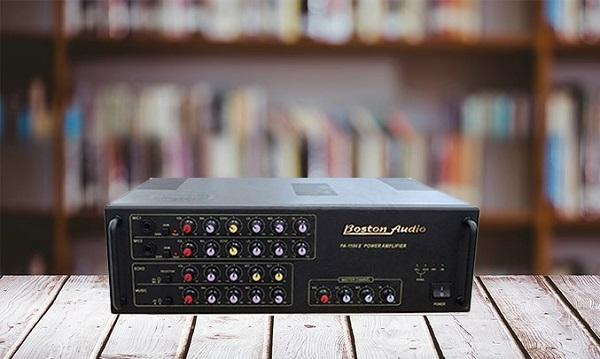 Tại sao bạn nên dùng Amply Boston Audio