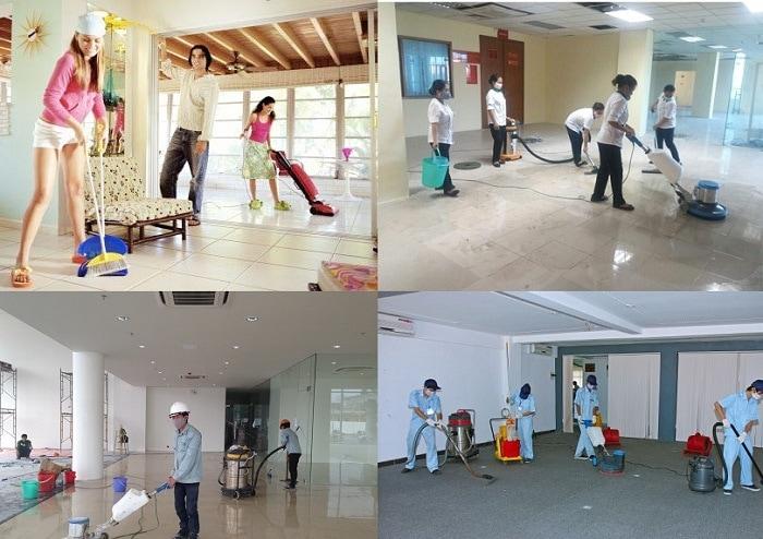 Dịch vụ vệ sinh nhà kho và công xưởng