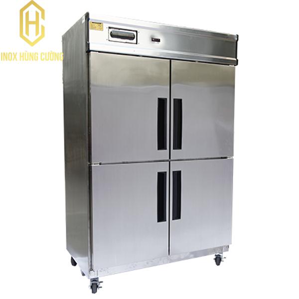 Tủ lạnh công nghiệp inox 4 cánh