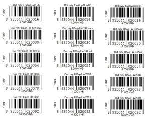 Những lợi ích của việc in tem mã vạch hiện nay là vô cùng to lớn trong hoạt động kinh doanh buôn bán