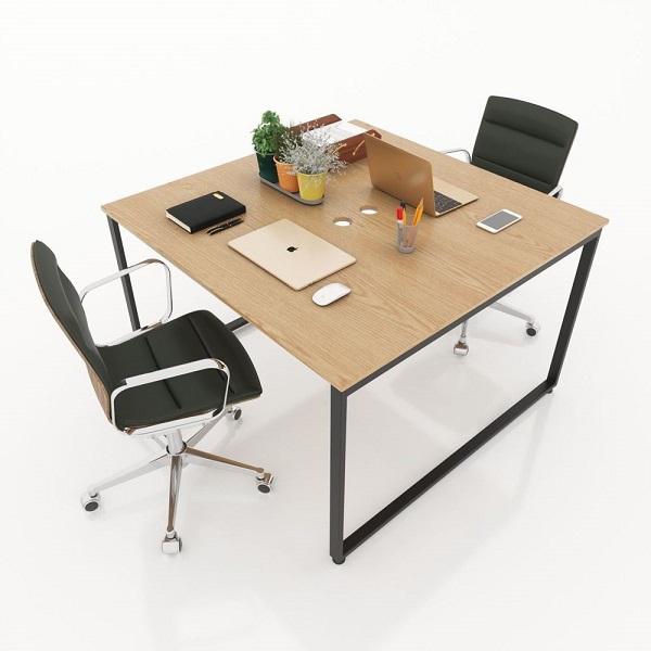 bàn làm việc nhân viên 2 người