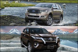 Động cơ mạnh mẽ của ford liệu có chiến thắng được vẻ đẹp tinh tế thanh lịch của Toyota hiện nay