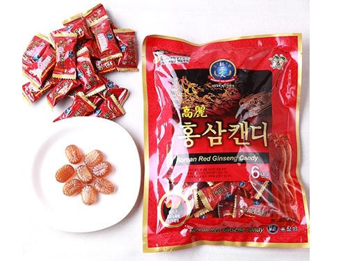 Tác dụng của kẹo sâm Hàn Quốc