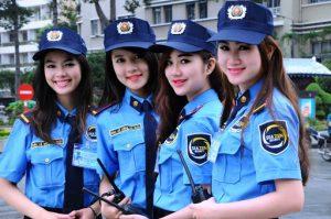 Bảo vệ nữ có nhiều thế mạnh riêng