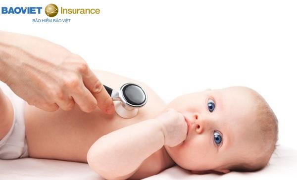 Bảo hiểm nhân thọ - Giải pháp chăm sóc sức khỏe toàn diện cho bé