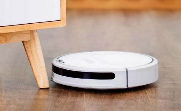 Robot hút bụi có kích thước nhỏ gọn, kiểu dáng hiện đại
