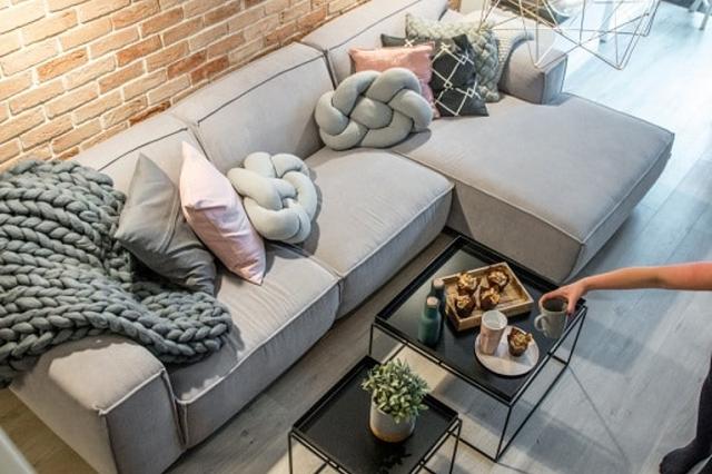 Vải len bọc sofa cao cấp