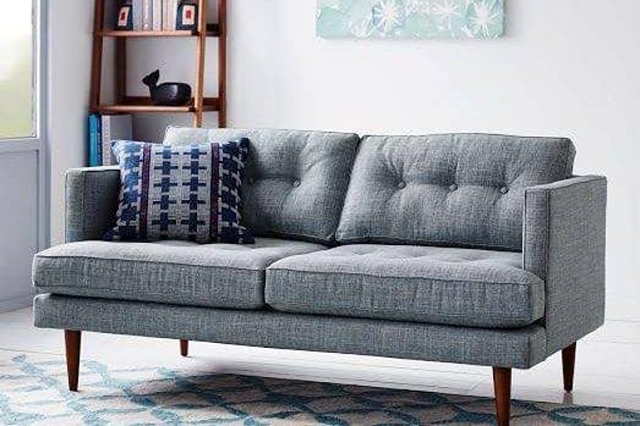 Vài sợi tự nhiên bọc sofa