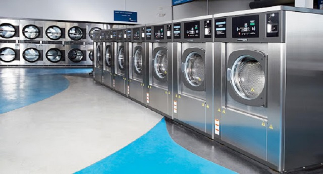cách sử dụng máy giặt công nghiệp