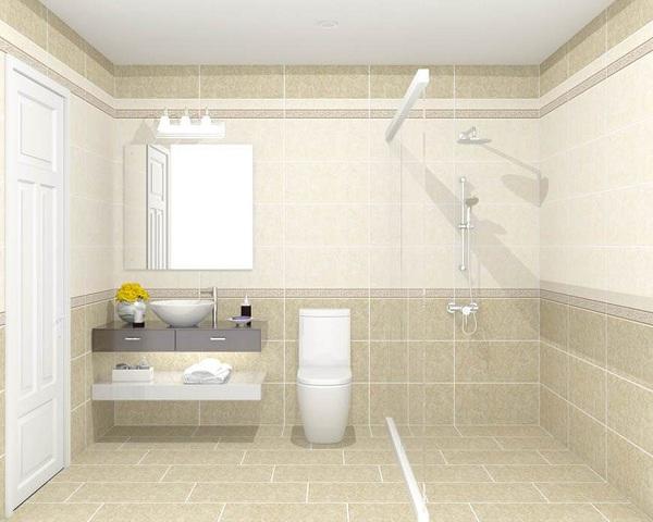 gạch ốp nhà tắm với thiết kế sang trọng