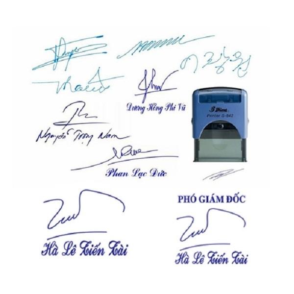 làm con dấu chữ ký Hoàng Dương