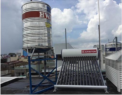 Máy nước nóng NLMT nhập khẩu từ Ý