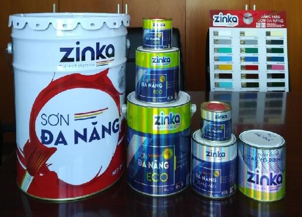 Cần lưu ý khi sử dụng sơn Zinka