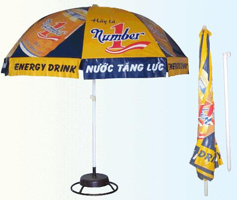 ô dù quảng cáo ngoài trời tại Hà Nội