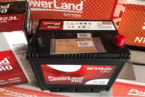 Ắc quy Powerland được khách hàng tin tưởng lựa chọn