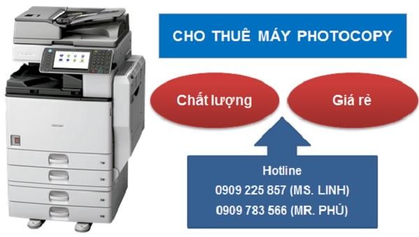 Tư vấn hỗ trợ các loại máy in, photocopy