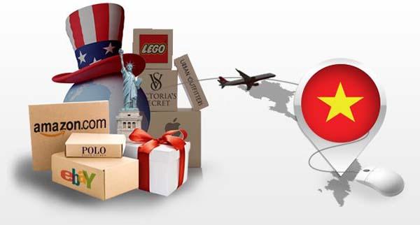 Vận chuyển hàng từ Mỹ về Việt Nam