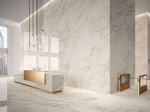 đá marble ốp tường nội thất