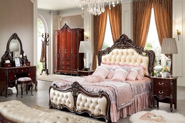 Giường ngủ tân cổ điển đẹp