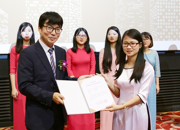 học bổng từ chính phủ Hàn Quốc