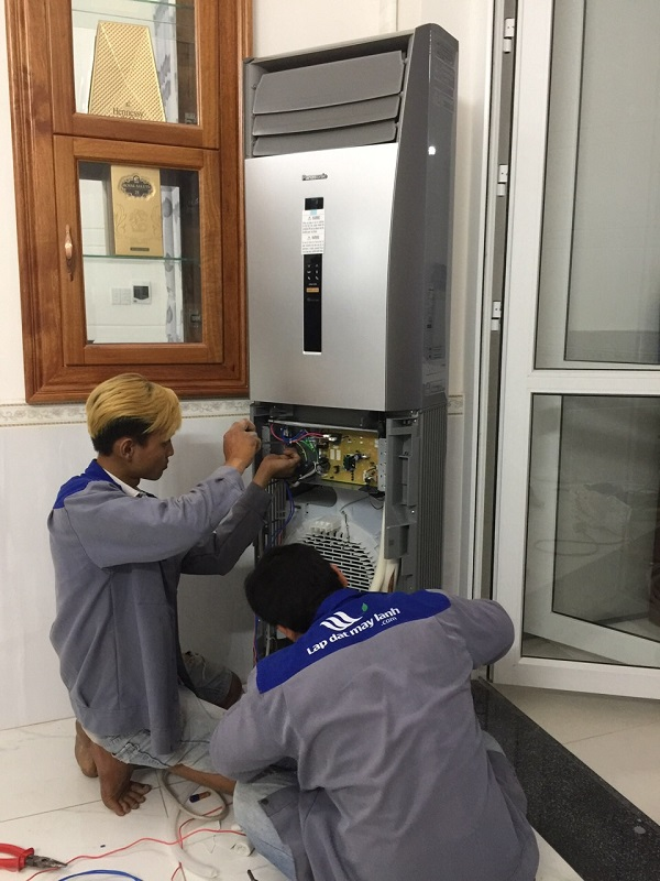 Lắp đặt máy lạnh tủ đứng giá rẻ