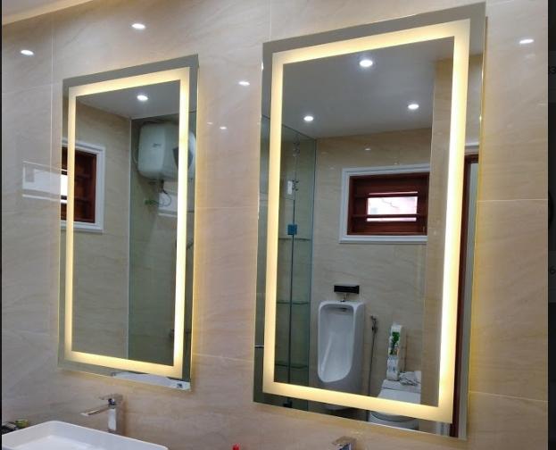 Mua gương soi toàn thân cần lưu ý những điều gì cho phòng tắm?