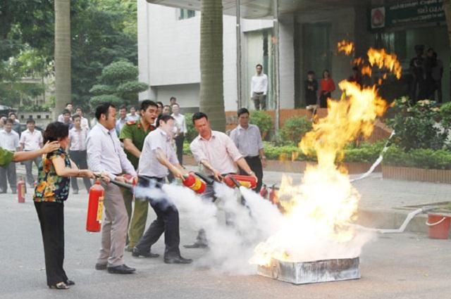 Quy trình xử lý đám cháy bảo vệ chung cư