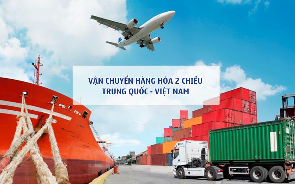 Cước phí ship hàng từ Trung Quốc về Việt Nam