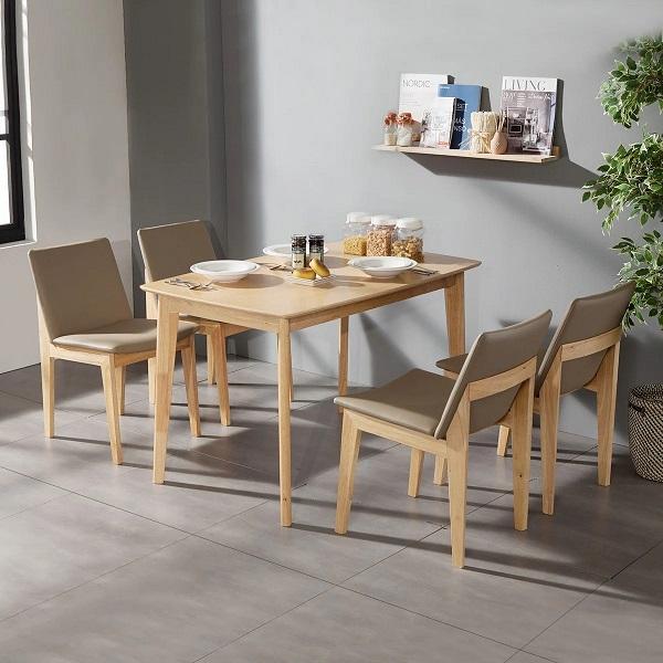 Bộ bàn ăn 4 ghế gia đình