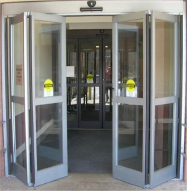 Cửa mở cánh tự động( cửa mở tự động xếp lớp)