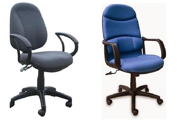 Ghế xoay bọc nỉ là một loại ghế thông dụng
