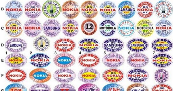 Chất liệu giấy in tem bảo hành