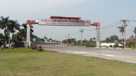 KCN Tân Phú Trung tại Củ Chi