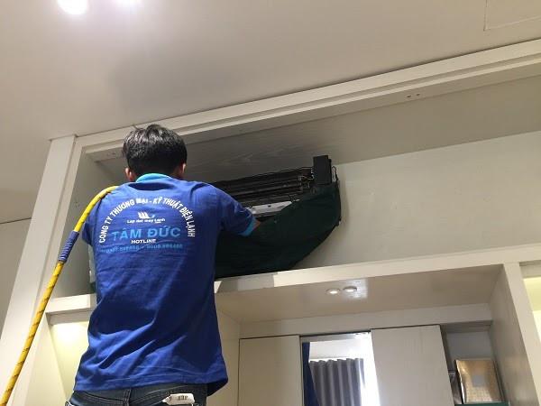 Lắp đặt máy lạnh chất lượng và uy tín