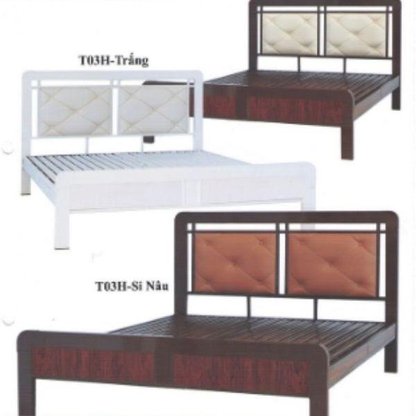 Giường gỗ để nệm