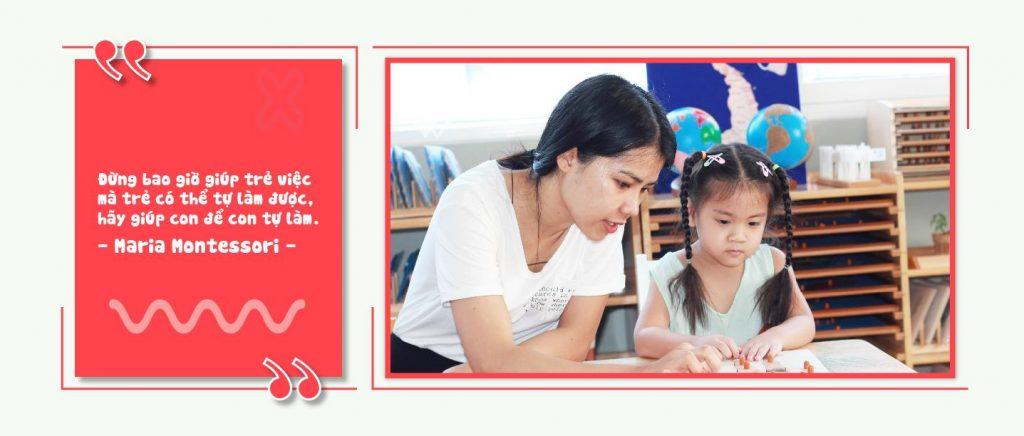Monterssori support tốt nhất đồng hành cùng bậc cha mẹ