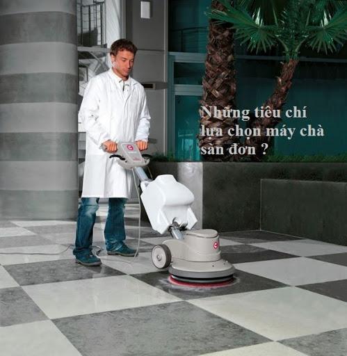 Những yếu tố ảnh hưởng giá máy chà sàn đơn?