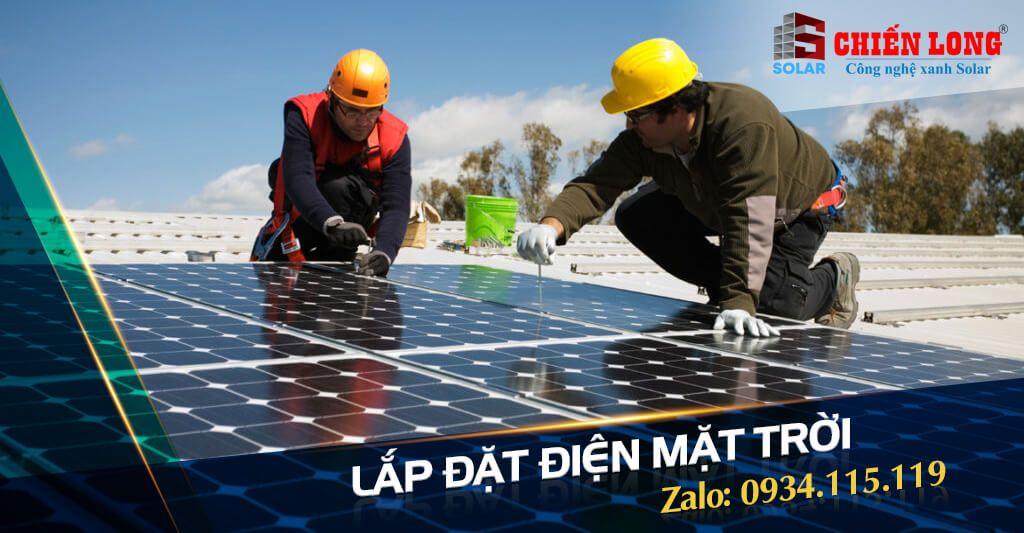 Điện năng lượng mặt trời cho hộ gia đình